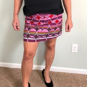 BODEN fun corduroy mini skirt